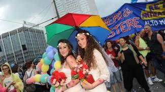 Gay pride a Milano (Newpress)