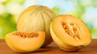 Un profumatissimo melone