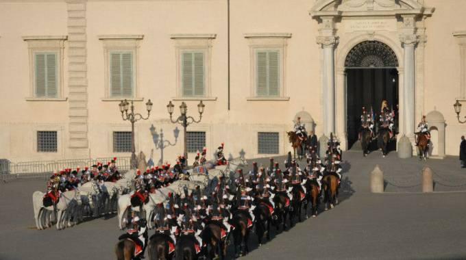 Il cambio della guardia solenne al Quirinale, foto di Maria Cristina Magri