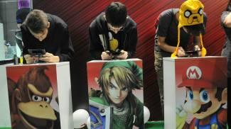 La fiera dei videogiochi di Milano (Newpress)