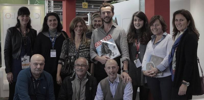 Manolo, Transumando e il Cavallo Magazine Team - foto di Silvia Foco