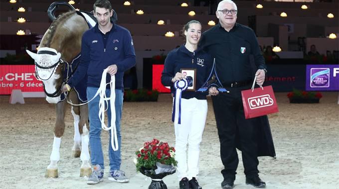 Harley, Anna Cavallaro e Nelson Vidoni, il trio delle meraviglie dell'equitazione azzurra