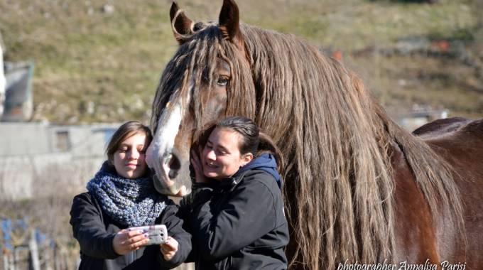 Valdano e le sue stagiste, foto di Annalisa Parisi
