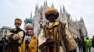 Corteo dei Re Magi a Milano