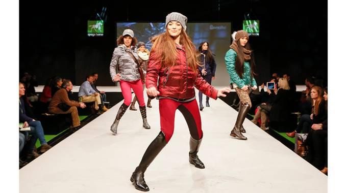 Spoga horse fashion walk, Halle 8 alle ore 12 e alle 17, il 2 febbraio alle ore 15.30