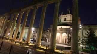 Colonne di San Lorenzo a Milano (Newpress)