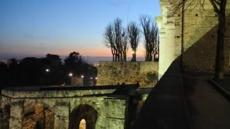 Le Mura Venete cingono la Città Alta (De Pascale)