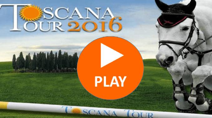 Esclusiva Cavallo Magazine: Diretta Streaming del Toscana Tour 2016