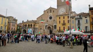 Piazza Broletto a Lodi