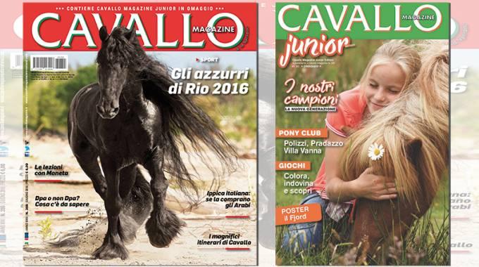 Cavallo n.355 di Giugno 2016 è in edicola