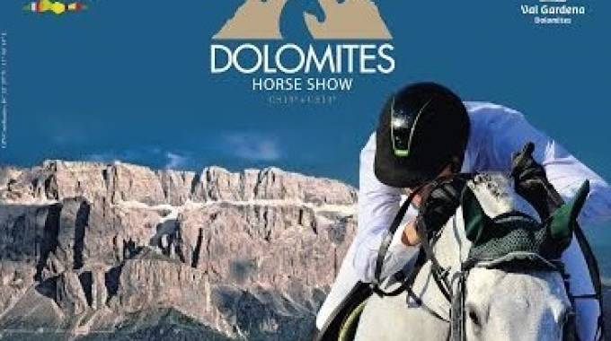 Dolomites Horse Show arriva in Italia, a Selva di Val Gardena