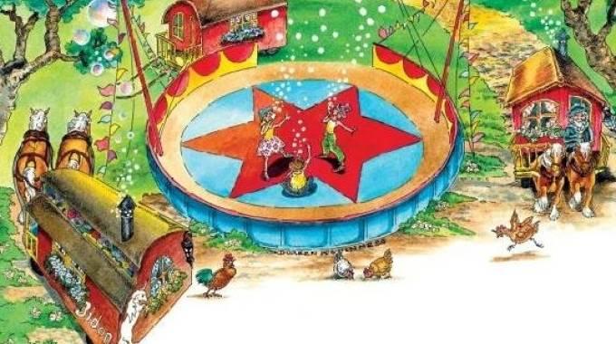 La locandina del Cirque Bidon