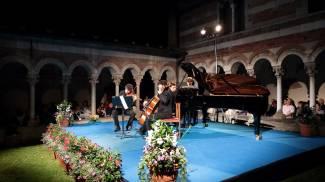 Un concerto del Festival della Musica sull'acqua