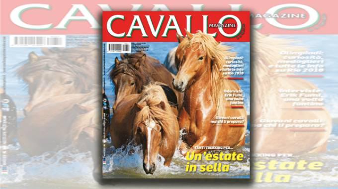 Cavallo Magazine di Agosto 2016 è in edicola
