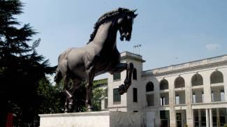 Il cavallo di Leonardo (Newpress)
