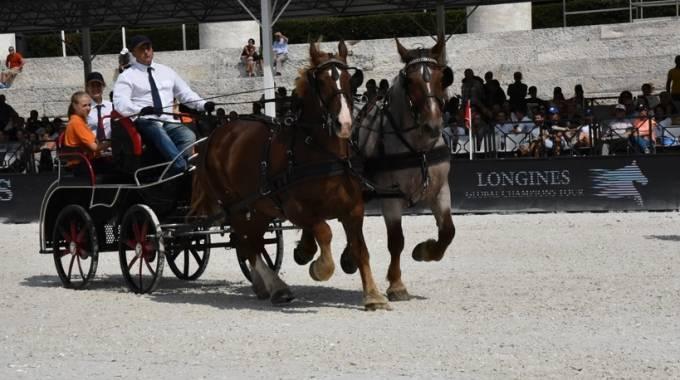 Caitpr al Longines Global Champions Tour, foto Annalisa Parisi