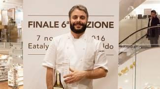Il vincitore Giuseppe Lo Iudice
