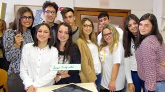 """Gli studenti del Liceo """"Raffaello"""" di Urbino"""