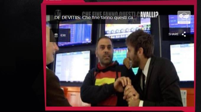 Screenshot da la pagina web de Le Jene