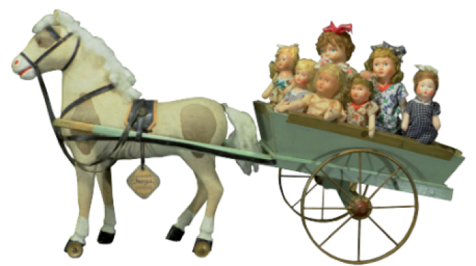 Museo Del Cavallo Giocattolo Di Grandate.Al Museo Del Cavallo Giocattolo La Collezione Furga