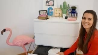 INVENTIVA Giulia Torelli, 28 anni, alle prese con una casa dove ristabilire al più presto l'ordine (Newpress)