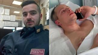 Luca Scatà (a sinistra) e Cristian Movio