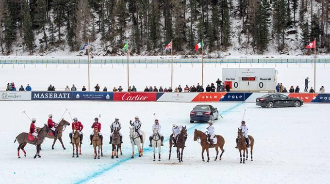 Polo: appuntamento VIP con la World Cup a St. Moritz ©Swiss.com/Cattaneo