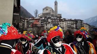 Carnevale di Bagolino. Foto Xavier Carré via Wikicommons