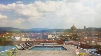 La vista dalla Terrazza dello Student Hotel