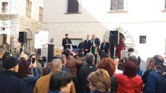 Luigi Di Maio a Fossombrone