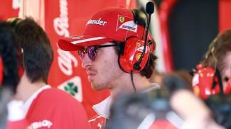 Ferrari, Antonio Giovinazzi (Lapresse)