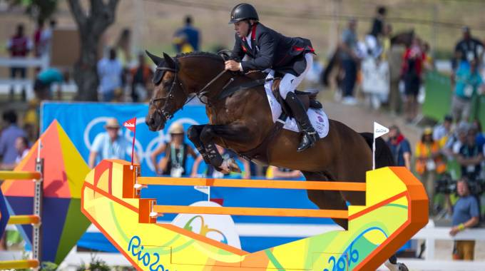 Nick Skelton e Big Star a Rio 2016 (ph. Arnd Bronkhorst/FEI)