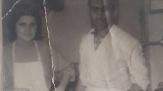 STORIA I fondatori della pasticceria Mazzali in una foto d'archivio; sopra Grazia Mazzali titolare dell'attività che festeggia i 60 anni