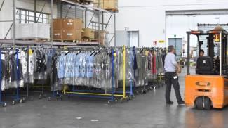 Un magazzino di logistica (foto di repertorio)