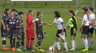 Un momento del torneo femminile