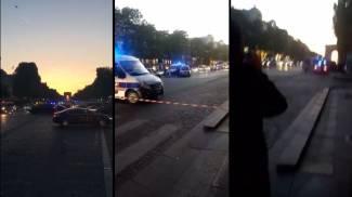 Sparatoria nel cuore di Parigi: tre fotogrammi