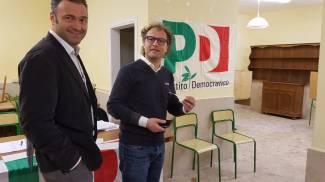 Primarie Pd: il ministro dello Sport Luca Lotti vota a Firenze