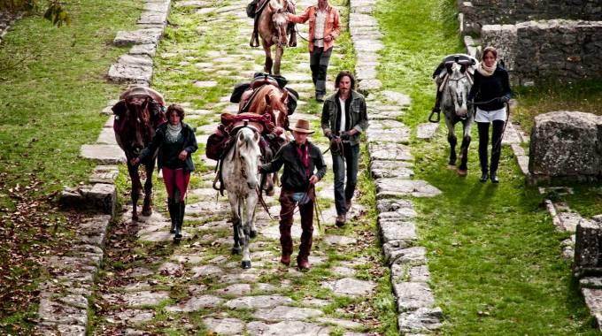A cavallo nella storia