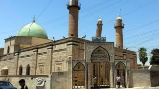 Mosul, moschea di al Nuri (Ansa)