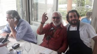 Da sinistra Lucio Boggi, Tiziano Lera e Gabriele Giovannelli