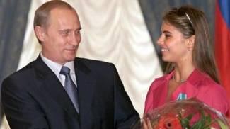 Vladimir Putin con Alina Kabaeva