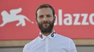 Alessandro Borghi al Lido (Afp)
