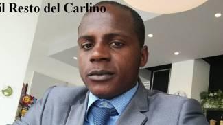 Guerlin Butungu, congolese di 20 anni
