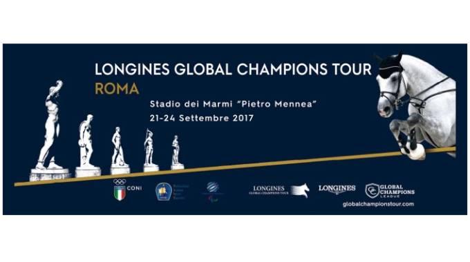 Roma: tornano i cavalli stellari del Global Champions Tour, 21-24 sett. Stadio dei Marmir