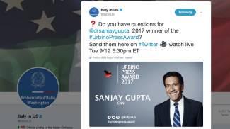 Domande via Tweet per il dottor Sanjay Gupta