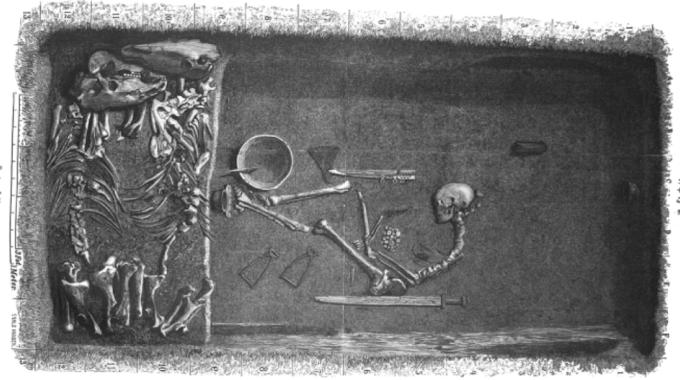 La tomba della guerriera di Birka