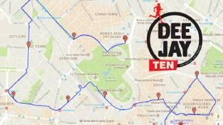 Deejay Ten il percorso da 10 km