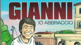 La copertina del fumetto 'Gianni, io abbraccio'
