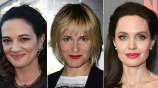 Alcune delle star che hanno accusato Weinstein (Afp)