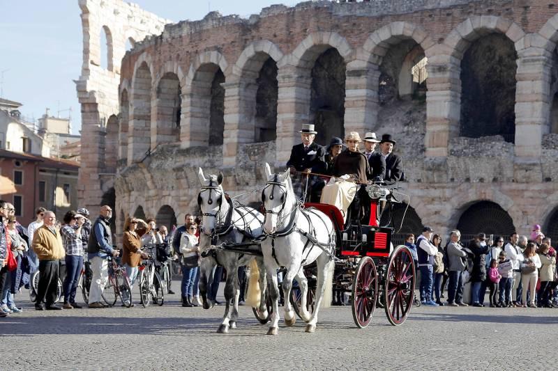 Fieracavalli, Verona in carrozza (ed. 2016)